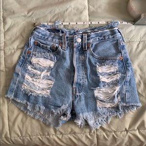 2 for 35❗️ Levi 591 vintage shorts